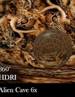 Alien Cave 360 Environment - HDRI