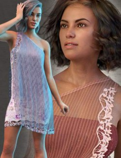dForce SoftWind Outfit for Genesis 8 Females