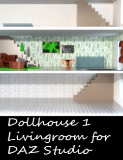 Livingroom for Dollhouse 1
