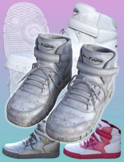 Hi-Topz Sneakers for Genesis 8 Female