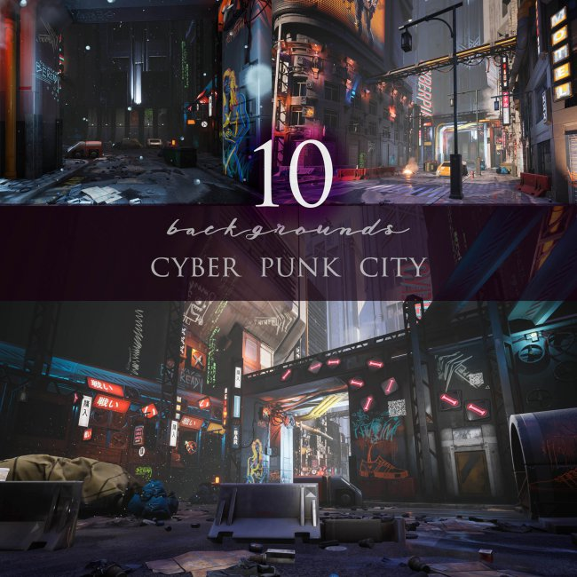 Cyber Punk City