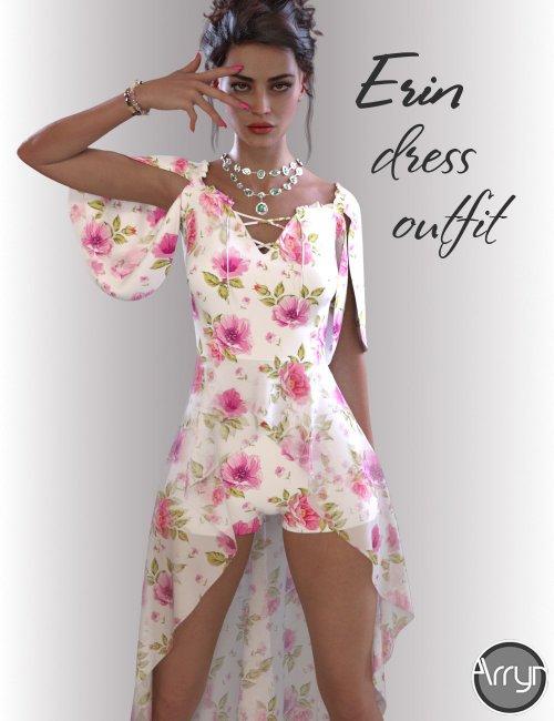 dForce Erin Holiday Dress for Genesis 8 Females