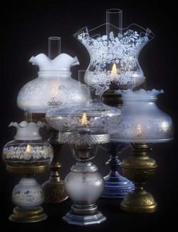 B.E.T.T.Y. Vintage Decor 02 Oil Lamps