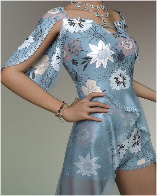 Stylish for dForce Erin Holiday Dress