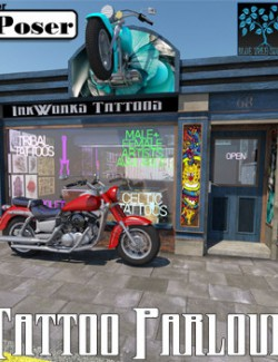 Tattoo Parlour for Poser