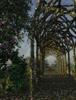 Modular 3D Kits: Elven Spring