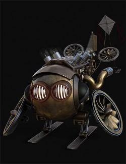 O-Bot Steampunk Robot
