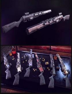 Cyberpunk Shotgun