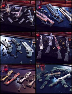 Cyberpunk Weapon Bundle