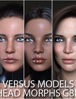 VERSUS MODELS- Head Morphs for G8F Vol5