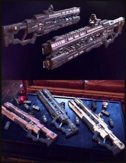 Cyberpunk Railgun