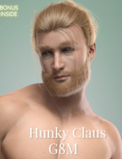 Hunky Claus for Genesis 8 Male