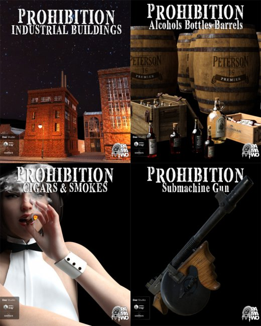 Prohibition Environments and Props for DS