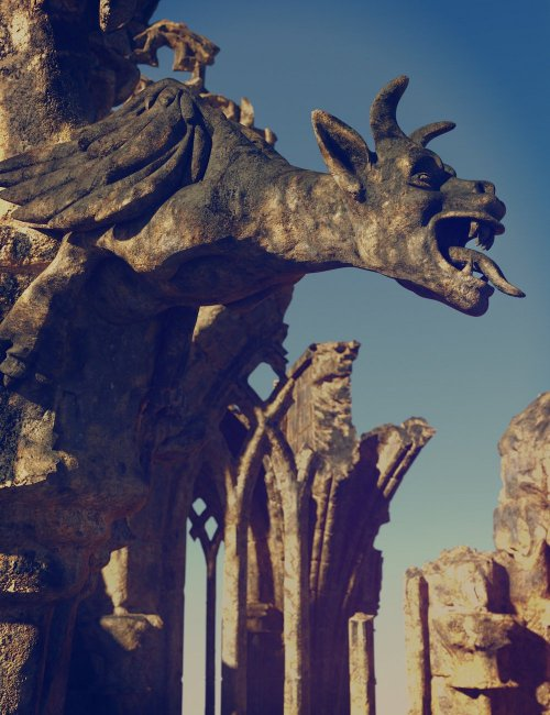 Ancient Legends - Gothic Cathedral Ruins
