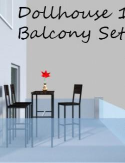 Balcony Set for Dollhouse 1