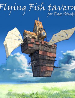 Flying Fish tavern for Daz Studio