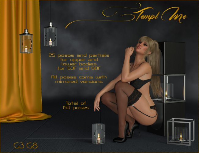Tempt Me - Poses G8F-G3F