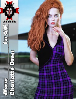 JMR dForce Charlotte Dress for G8F