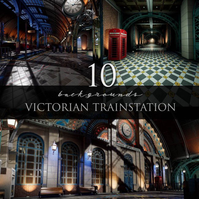 Victorian Train Station