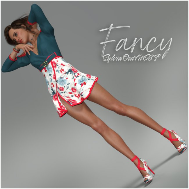 Fancy Sylvia Outfit G8F