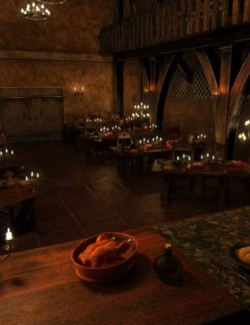 FG Medieval Dining Hall