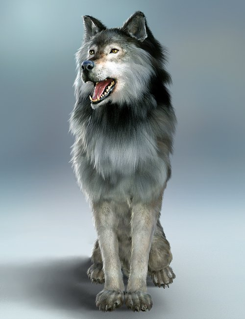 Dire Wolf Animations for Daz Dog 8 and Genesis 8
