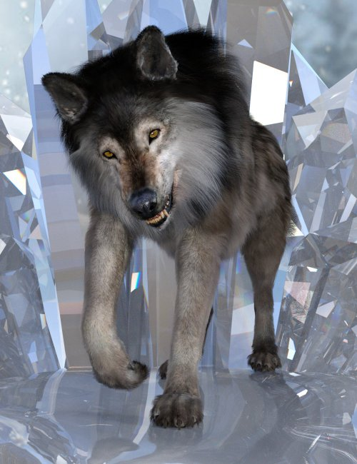 Alpha Poses for Dire Wolf