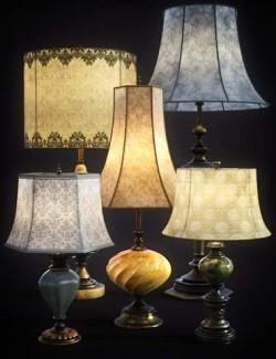 B.E.T.T.Y. Vintage Decor 03 Table Lamps