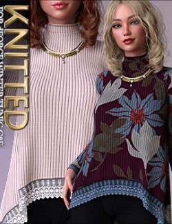 Knitted for dForce Winter Tunic G8F