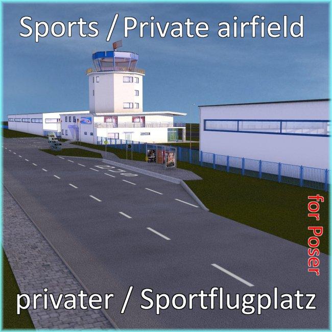 Sports Airfield  - Sportflugplatz