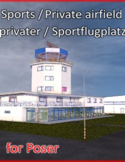 Sports Airfield  - Sportflugplatz