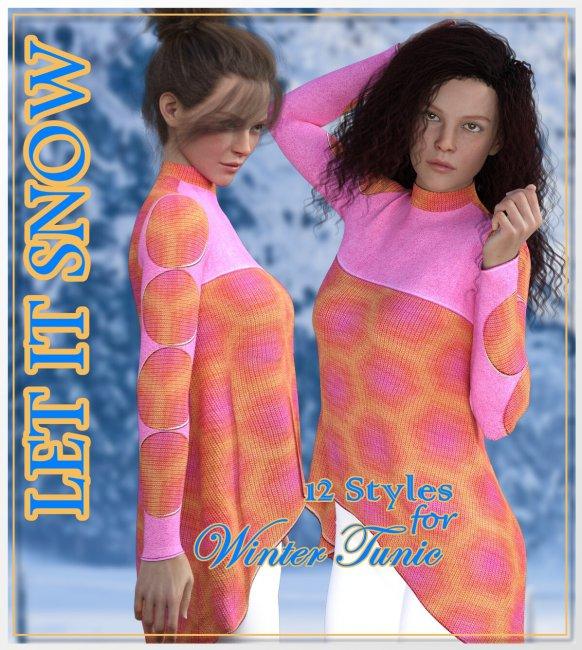 Let it Snow- Winter Tunic