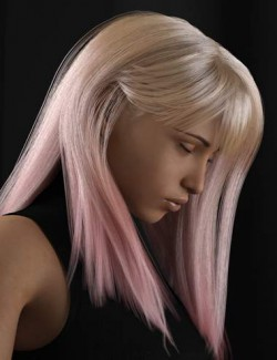 dForce Lexi Hair for Genesis 8 Females