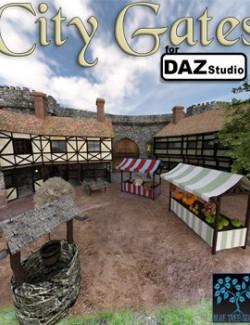 City Gates for Daz Studio