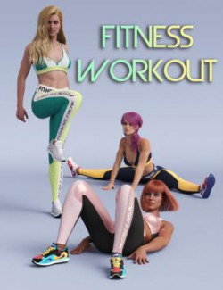 S3D Fitness Workout Poses
