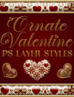Ornate Valentine PS Layer Styles