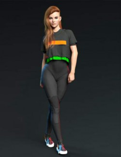 X-Fashion dForce Space Bodysuit Set