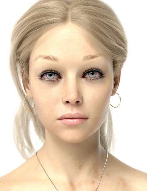 Ludovica HD For Genesis 8 Female