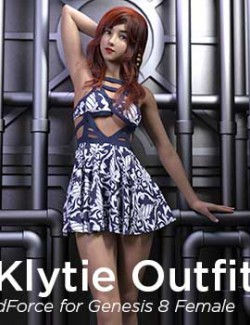 dForce Klytie Outfit for G8F