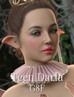 Teen- Darla for Genesis 8 Female