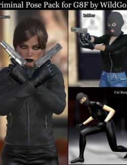 Criminal Pose Pack for G8F