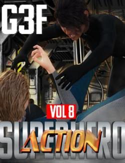 SuperHero Action for G3F Volume 8