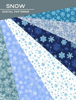Digital Patterns - Snow