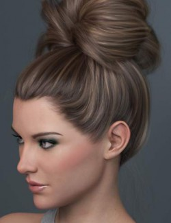 Top Updo for Genesis 3, 8, and 8.1 Females