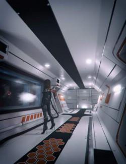 Modular Sci-fi Interior Kit