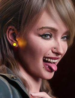Vario Piercings for Genesis 8.1 Female