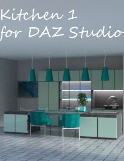 Kitchen 1 for DAZ Studio