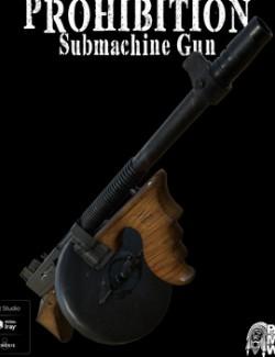 Prohibition Submachine Gun for DS
