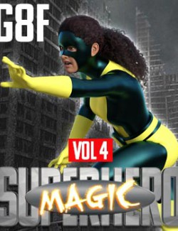 SuperHero Magic for G8F Volume 4