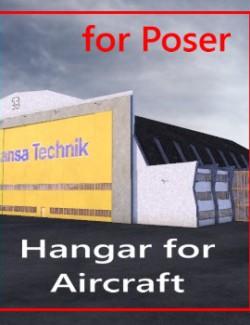 Hangar fr Flugzeuge